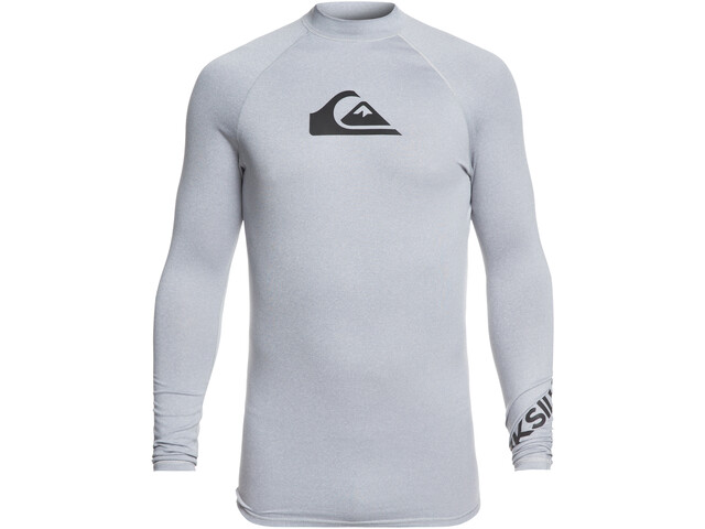 Quiksilver All Time LS Shirt Herren light grey heather